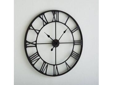 Horloge métal Zivos LA REDOUTE INTERIEURS Marron