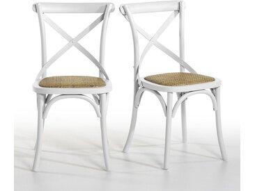 Lot de 2 chaises, Humphrey AM.PM Blanc