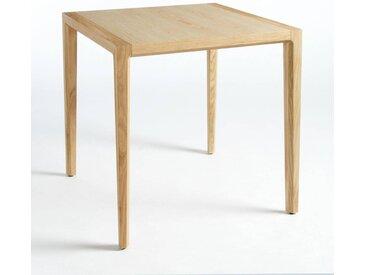 Table de bistrot design, Nizou, design E. Gallina AM.PM Chêne Naturel