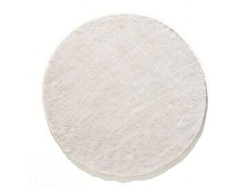 Tapis rond, coton tufté, Renzo, grand modèle LA REDOUTE INTERIEURS Blanc Écru