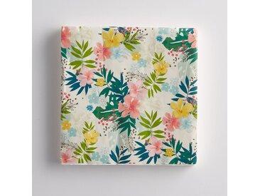 Lot 20 serviette papier LA REDOUTE INTERIEURS Imprimé Floral