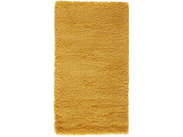 Descente de lit shaggy, aspect laineux, Afaw LA REDOUTE INTERIEURS Moutarde