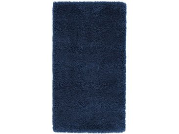 Descente de lit shaggy, aspect laineux, Afaw LA REDOUTE INTERIEURS Bleu Foncé