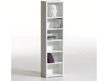 Étagère range CD/DVD, hauteur 1 mètre, Everett LA REDOUTE INTERIEURS Blanc