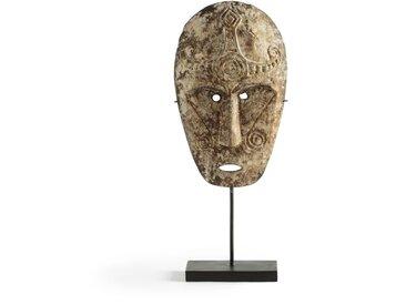 Masque tribal bois H47 cm, Semarang AM.PM Beige