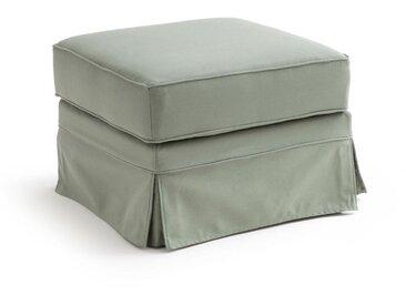 Pouf coton confort excellence bultex, Adelia LA REDOUTE INTERIEURS Vert Kaki