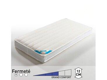 Matelas bébé mousse à fibres respirantes LA REDOUTE INTERIEURS Blanc