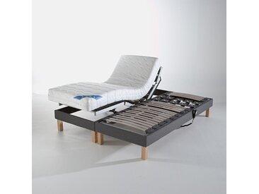 Sommier de relaxation tapissier électriqueREVERIEGris Moyen