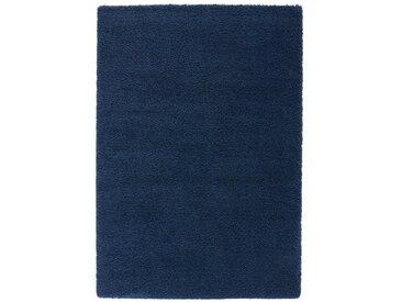 Tapis shaggy, aspect laineux, Afaw LA REDOUTE INTERIEURS Bleu Foncé