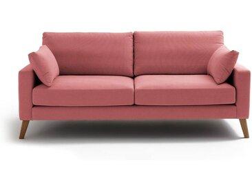 Canapé coton, Stockholm, confort Excellence LA REDOUTE INTERIEURS Terracotta