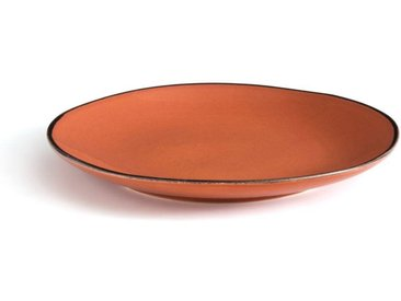 Lot de 4 assiettes dessert faïence Catalpin AM.PM Terracotta
