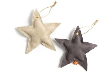 Décoration de noël Agesilas (lot de 2) AM.PM Gris/ Beige