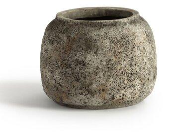 Vase en ciment Ø28 cm, Sérax AM.PM Grège