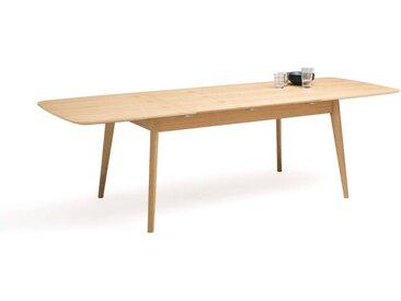 Table repas extensible chêne 4/8 couverts, Biface LA REDOUTE INTERIEURS Chêne