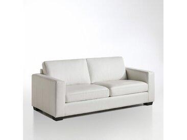 Canapé cuir 2 ou 3 places, Ysella LA REDOUTE INTERIEURS Blanc