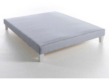 Sommier tapissier lattes H17 cm, Soma AM.PM Rayé Bleu