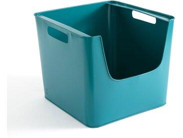 Casier métal L37 x H31,5 cm, Arreglo AM.PM Bleu Paon