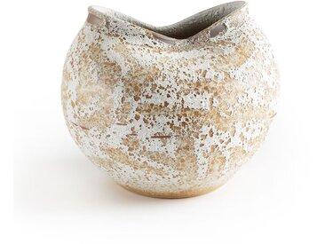 Vase sculpture H30 cm, Nankin AM.PM Brun