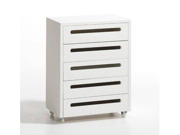 Commode 5 tiroirs Duplex AM.PM Blanc