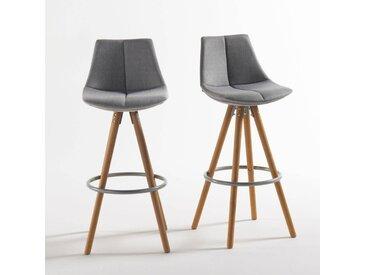 Lot de 2 chaises de bar AstingLa Redoute InterieursGris