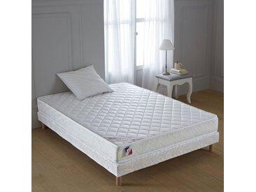 Sommier tapissier classique à ressorts LA REDOUTE INTERIEURS Blanc