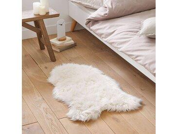 Descente de lit effet peau de mouton, Livio LA REDOUTE INTERIEURS Blanc