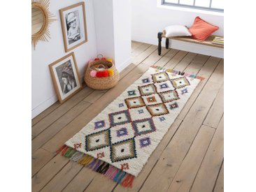 Tapis de couloir style berbère Ourika LA REDOUTE INTERIEURS Multicolore