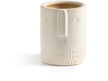 Cache-pot céramique Ø12 cm, Sakina AM.PM Blanc