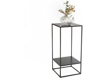 Sellette métal double plateau, Hiba LA REDOUTE INTERIEURS Noir