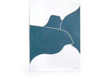 Affiche, Mitranda AM.PM Bleu-Blanc