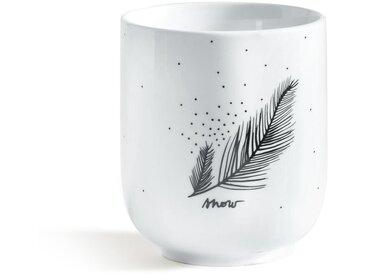 Lot 4 tasse à thé MIWIN LA REDOUTE INTERIEURS Blanc