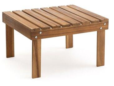 Repose pieds/table basse Zeda en acacia LA REDOUTE INTERIEURS Bois Clair Naturel