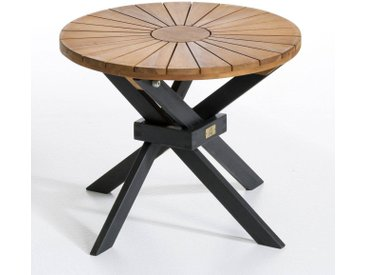 Table basse de jardin, Jakta AM.PM Naturel/Noir