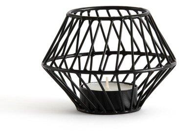 Photophore en métal filaire, Oror LA REDOUTE INTERIEURS Noir