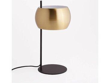 Lampe à poser métal noir et laiton, Elori LA REDOUTE INTERIEURS Noir/Laiton