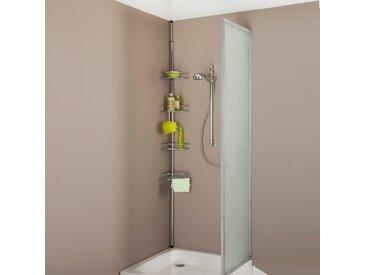 Etagère de douche extensible LA REDOUTE INTERIEURS Métal Chromé