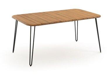 Table pliante Spritz acacia 6 personnes LA REDOUTE INTERIEURS Acacia