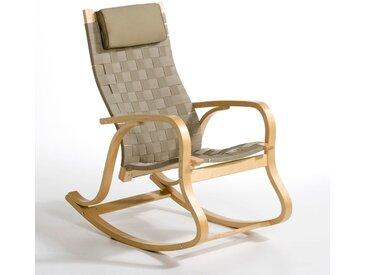 Rocking chair, design, Jimi LA REDOUTE INTERIEURS Beige