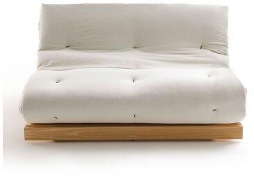 Banquette futon, 4 positions THAÏ LA REDOUTE INTERIEURS Bois Clair Naturel Verni