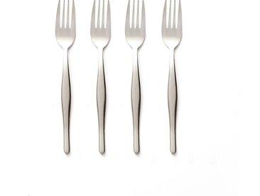 Lot de 4 fourchettes, Violaine LA REDOUTE INTERIEURS Inox