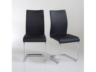 Lot de 2 chaises cantilever, Newark LA REDOUTE INTERIEURS Noir