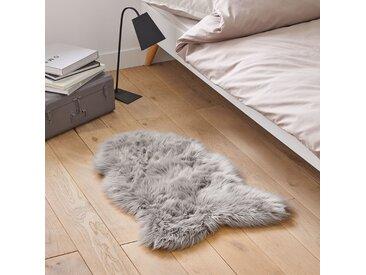 Descente de lit effet peau de mouton, Livio LA REDOUTE INTERIEURS Gris