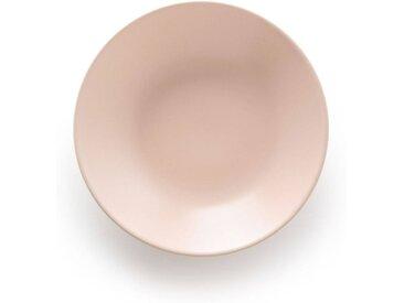 Lot 4 assiettes creuses faïence mat, MELYA LA REDOUTE INTERIEURS Nude
