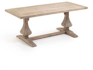 Table rectangulaire orme massif, Lorette AM.PM Orme Massif Naturel