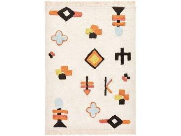Tapis enfant coton Ivica AM.PM Multicolore