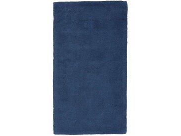 Descente de lit coton tufté Renzo LA REDOUTE INTERIEURS Bleu Foncé