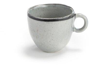 4 mugs grès émaillé, Anika AM.PM Gris