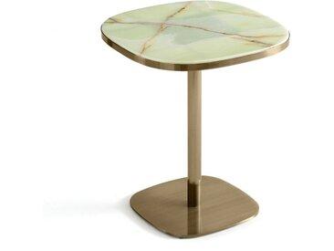 Table de bistrot plateau jade Ø60 cm Lixfeld AM.PM Vert Jade