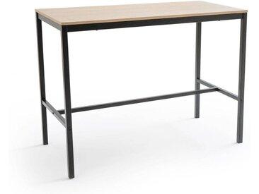 Table de bar mi-hauteur 4 couverts, BLUTANTE LA REDOUTE INTERIEURS Chêne