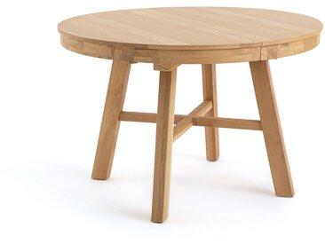 Table ronde extensible chêne massif Zebarn LA REDOUTE INTERIEURS Chêne